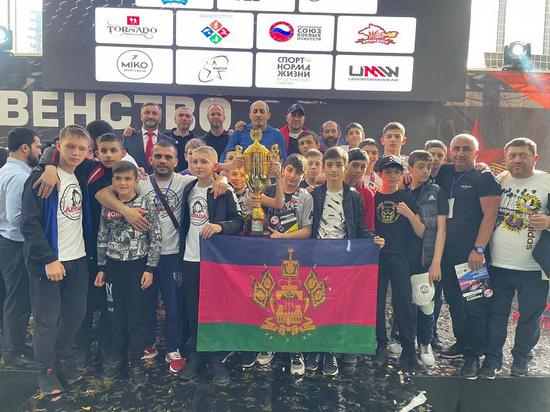 Кубанские подростки стали призерами первенства России по ММА