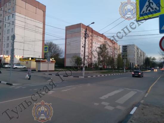 Водитель Hyundai Creta сбил несовершеннолетнего пешехода на улице Кауля в Туле