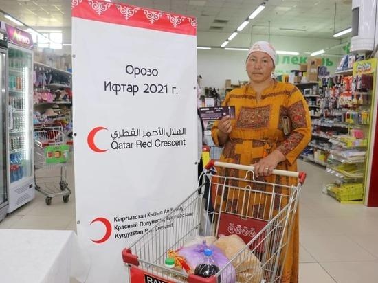 В священный месяц Рамадан тысячи семей в Кыргызстане получают помощь