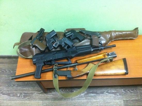 61 единицу гражданского оружия изъяли у жителей Псковской области