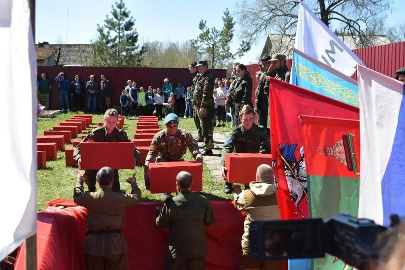 В Тверской области перезахоронили останки солдат
