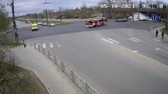 Водитель пожарной машины избежал очередного ДТП в Петрозаводске