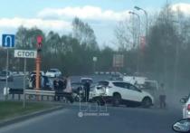 Крупная авария с четырьмя пострадавшими произошла в Кемерове