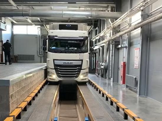 На белорусской границе задержали грузовик с 330 кг гашиша