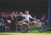 В рамках 100-летия Российского молодежного театра состоялась одна из самых необычных премьер исторического значения