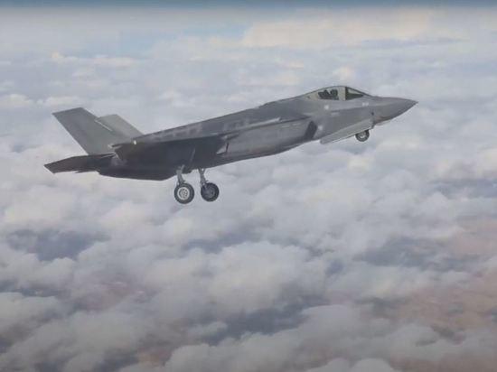 Израиль задействовал истребитель F-35 для ударов по ХАМАС