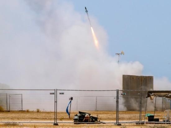 Нефтепровод горит в Израиле после обстрела из сектора Газа