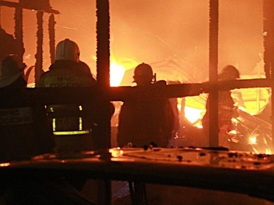 Девятилетний ребенок погиб при пожаре в Алтайском крае