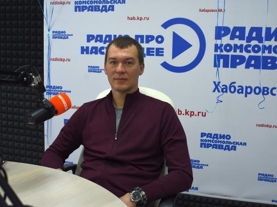 Михаил Дегтярев на радио рассказал о своей жизни, семье и интересах