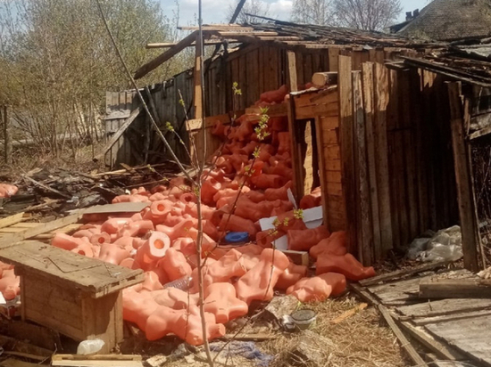 В Кирове появилась стихийная свалка манекенов