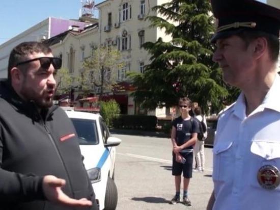 Эрика Давидовича остановили полицейские в Сочи
