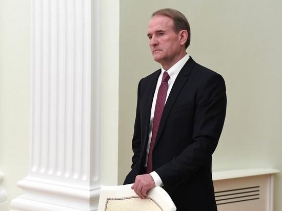 """Медведчуку предъявили обвинения в госизмене и """"нарушении обычаев войны"""""""