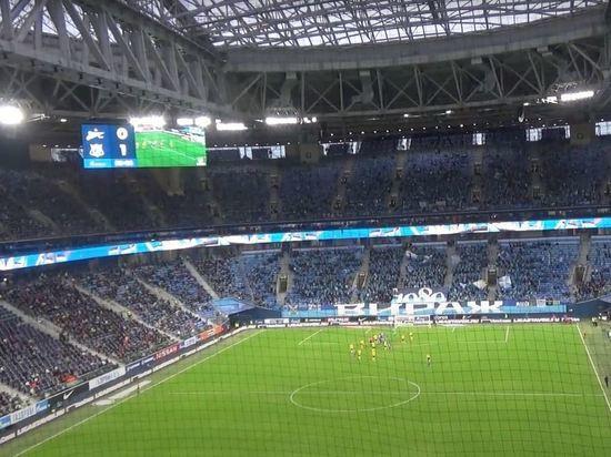 СМИ: «Газпром Арена» стал самым посещаемым стадионом в Европе