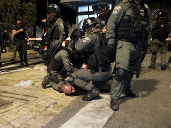Полиция Израиля задержала более 370 человек после беспорядков