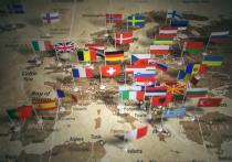 """Агентство Блумберг со ссылкой на распространенный между членами ЕС документ сообщило, что по мнению союза, РФ пытается """"де-факто интегрировать"""" части восточной Украины с помощью """"нелегитимных выборов"""""""