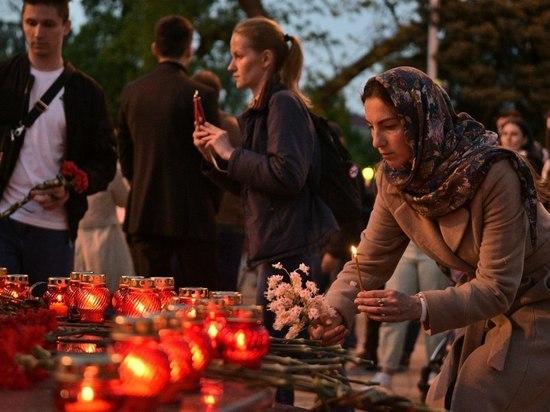 Краснодарцы почтили память погибших в казанской школе