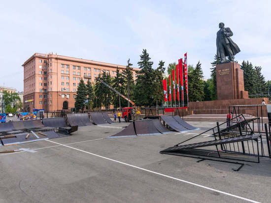 В центре Челябинска появится новый скейт-парк