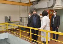 Любимов посетил Окскую очистную водопроводную станцию
