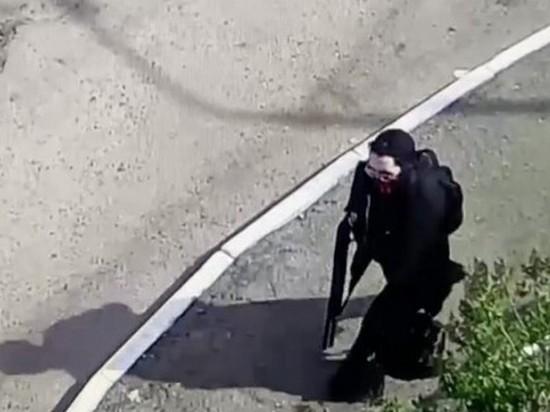 Городская система видеонаблюдения не смогла распознать Галявиева с ружьем