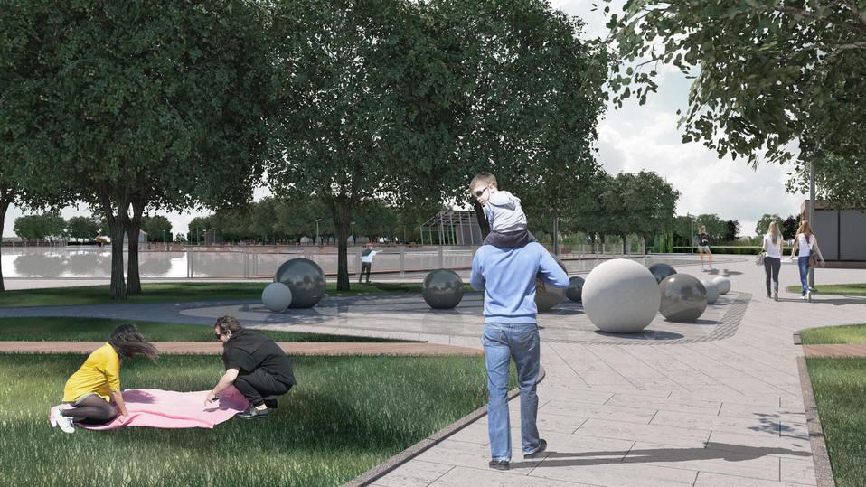 В Москве установят необычные «лунные» качели