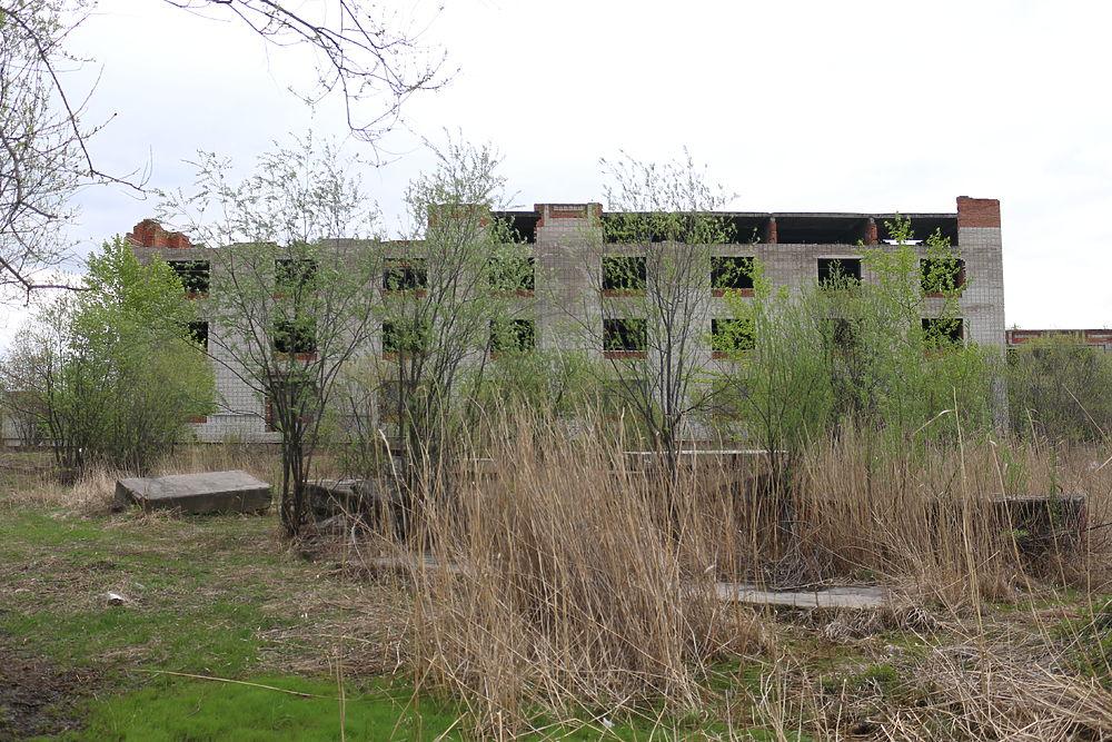 Фото домов в пригороде Хабаровска, в которых разбиваются дети
