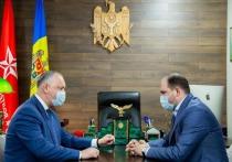Лидер ПСРМ Игорь Додон провел встречу с мэром Кишинева Ионом Чебаном
