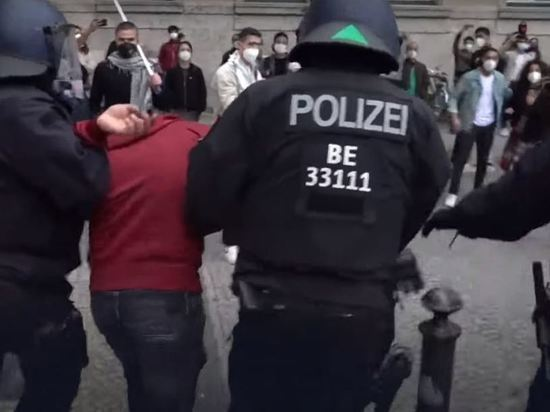 В Германии антиизраильские демонстрации переросли в беспорядки
