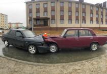 Водитель ВАЗа уснул за рулем и устроил ДТП в Новом Уренгое