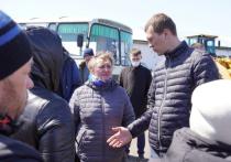 Власти Хабаровского края не допустили разрастания паводка в Николаевском районе