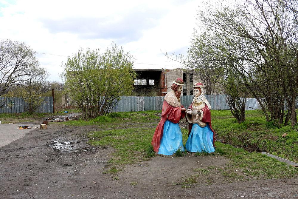 Пристанище бомжей и маргиналов в центре Некрасовки