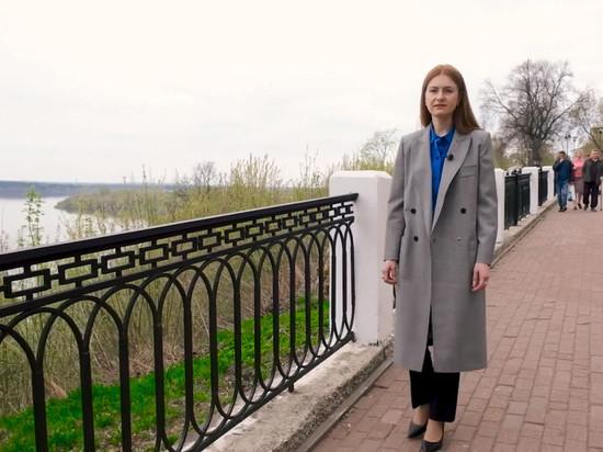 В Кирове Мария Бутина гуляет по паркам и благодарит народ своей страны