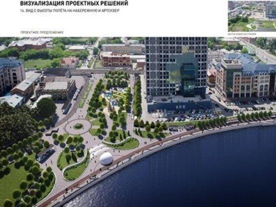 В центре Челябинска новая пешеходная зона соединит обе набережные реки Миасс