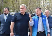 Первый замгубернатора Кузбасса Вячеслав Телегин проверил столицу Дня шахтера-2021