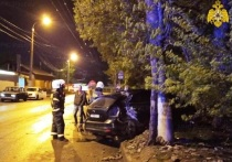 В Калуге несколько человек пострадали в ночном ДТП