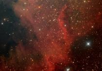 Туманность Северная Америка запечатлел псковский астроном-любитель