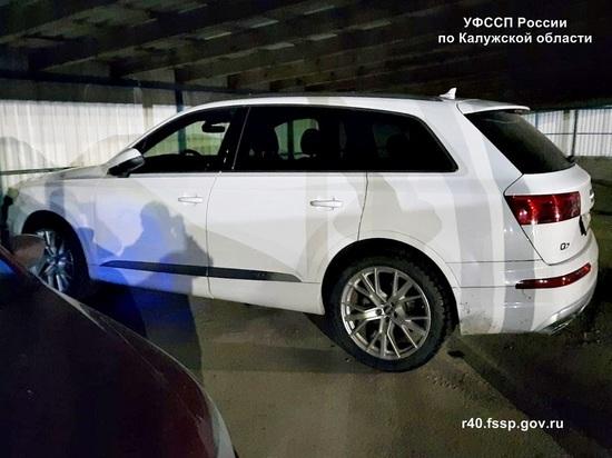 Калужанин лишился Audi Q7 за миллионные долги