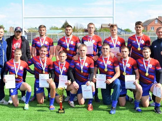 Кубанские регбисты одержали победу во втором этапе спартакиады молодежи России