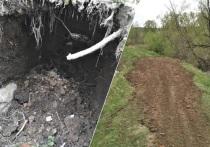 В селе Акулово из-за сильных дождей размыло плотину