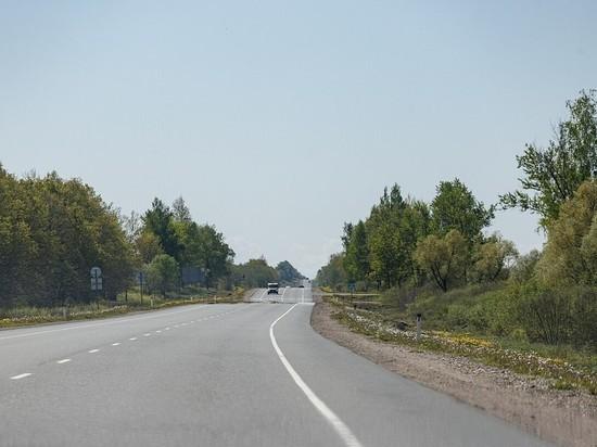 Автомобиль с жителями Брянской области съехал в кювет в Опочецком районе
