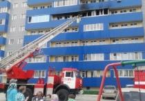 Днем в пятницу, 14 мая, в Бийске произошел пожар в девятиэтажном здании.