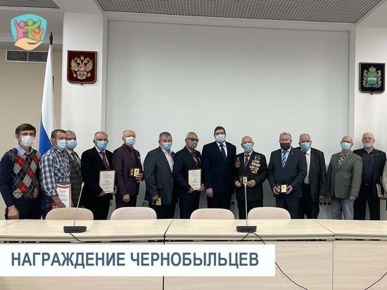 В Калуге наградили чернобыльцев