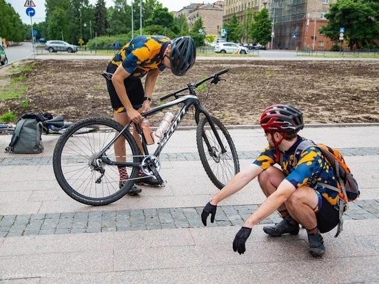 20 велосипедистов за два дня оштрафовали в Петрозаводске