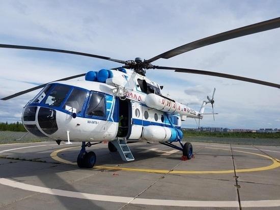 Из-за сломанной «подушки» между Салехардом и Лабытнанги запустили вертолетные рейсы