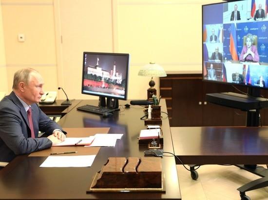 Владимир Владимирович, выступая в пятницу на совещании с членами Совета безопасности, рассказал о том, как проходит зачистка оппозиции