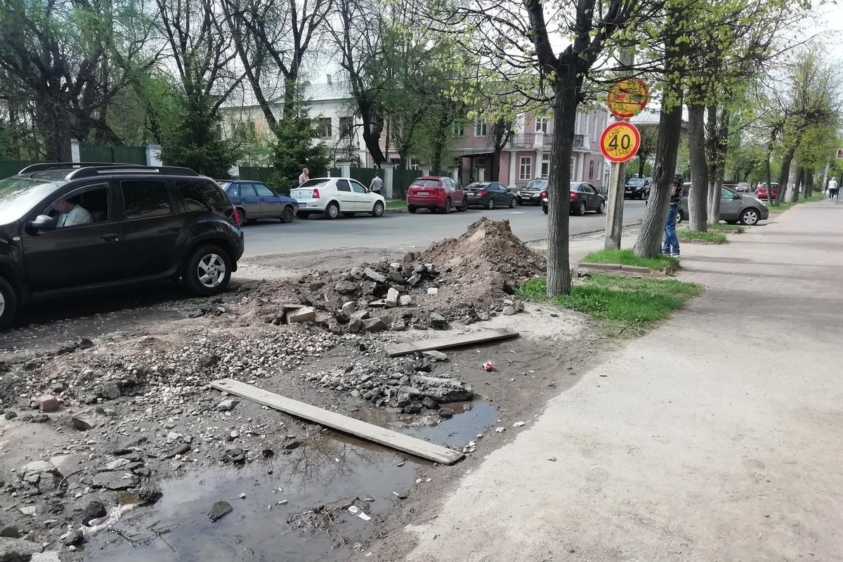 Костромичи высказывают претензии к планированию дорожных работ