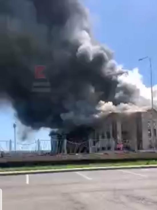 На Кубани возбудили уголовное дело по факту пожара в неэксплуатируемом здании детсада