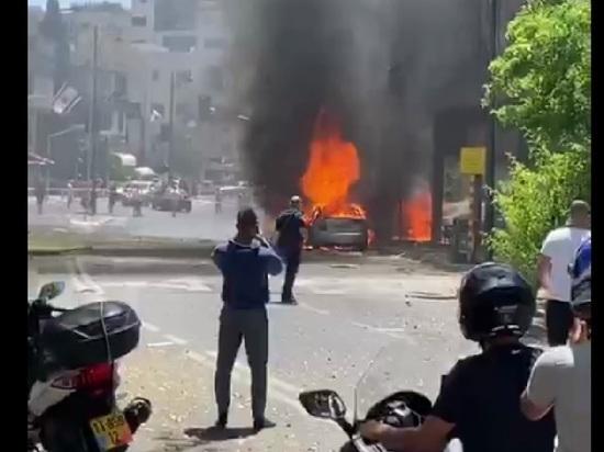 Один человек погиб при ракетном ударе по Тель-Авиву