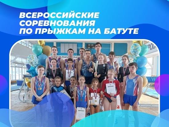 Спортсмены из ЯНАО взяли «золото» и «серебро» на всероссийских соревнованиях по прыжкам на батуте