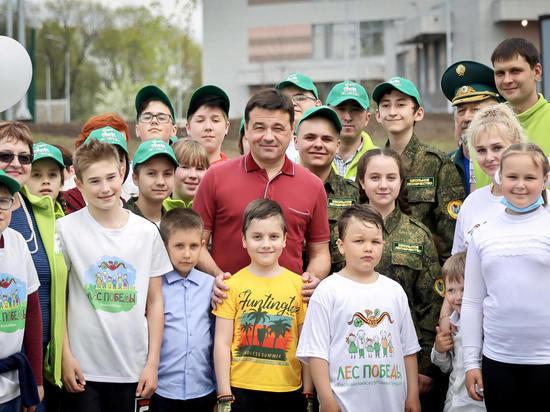 В селе Тропарево Можайского округа откроется новая школа с яблоневым садом и клёнами вокруг