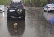 Ребенок попал в больницу после наезда автомобиля в Хабаровске